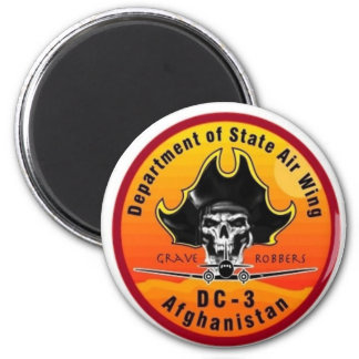 DOS AIRWING Grave Robbers Magnet