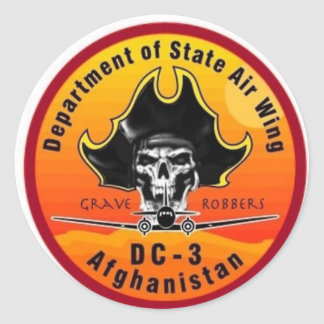 DOS AIRWING Grave Robbers Sticker