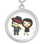 Dos al tango colgante redondo
