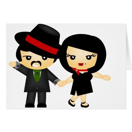 Dos al tango tarjetón