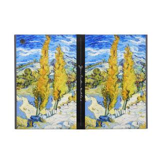 Dos álamos en una colina Vincent van Gogh iPad Mini Cárcasas