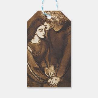 Dos amantes de Dante Gabriel Rossetti Etiquetas Para Regalos