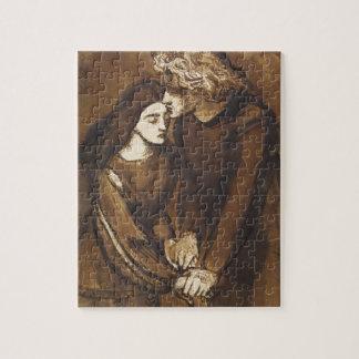 Dos amantes de Dante Gabriel Rossetti Puzzle
