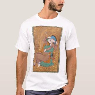 Dos amantes de Reza Abbasi (1630) Playera