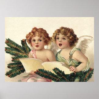 Dos ángeles del canto poster