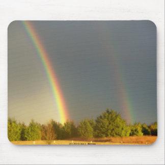 Dos arco iris tapetes de ratones