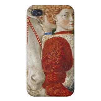 Dos asistentes Liveried y la cabeza de Lorenzo iPhone 4 Cárcasa