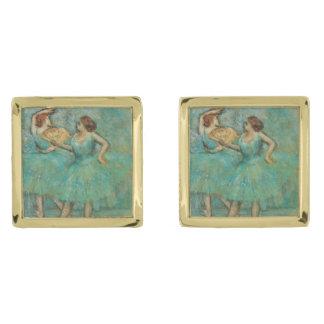 Dos bailarines de Edgar Degas Gemelos Dorados