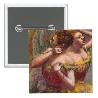 Dos bailarines pin cuadrada 5 cm