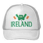Dos banderas de Irlanda Gorro