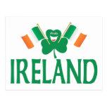 Dos banderas de Irlanda Postal