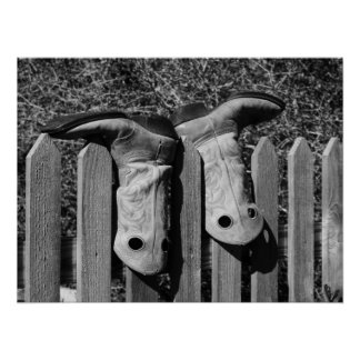 Dos botas póster