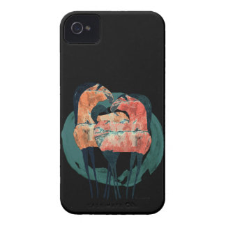 Dos caballos II Case-Mate iPhone 4 Cárcasas