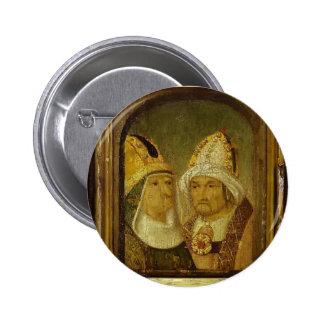 Dos cabezas masculinas de Hieronymus Bosch Pin