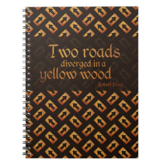 Dos caminos - cuaderno de la escritura