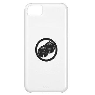 Dos campanas en círculo funda para iPhone 5C