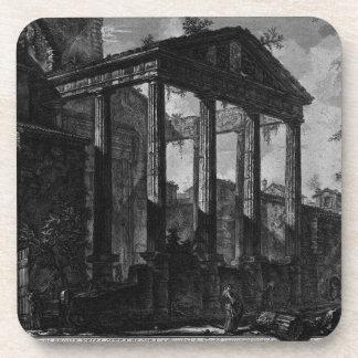 Dos capitales y una base de columna… posavasos