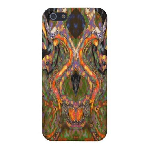 Dos caso de IPhone 4 de las serpientes iPhone 5 Carcasas