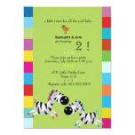 Dos cebras - la fiesta de cumpleaños de los anuncio
