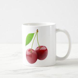 Dos cerezas taza clásica