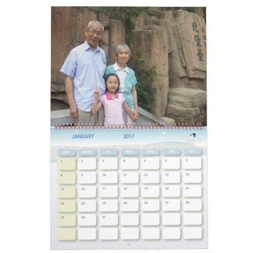 Dos chicas calendario