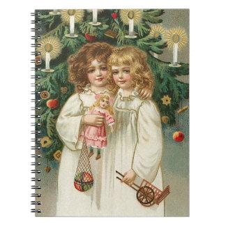 Dos chicas preciosos libretas