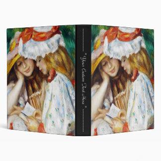"Dos chicas que leen la pintura de Pedro Auguste Carpeta 1"""