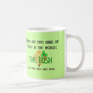Dos clases de gente: Irlandés Tazas De Café
