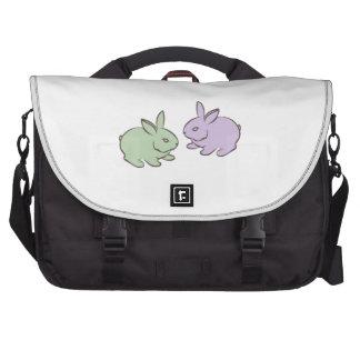 Dos conejitos bolsas para portatil
