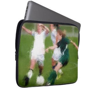 Dos contra una batalla del fútbol mangas portátiles