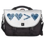 Dos corazones bolsas de portatil