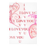 Dos corazones papeleria personalizada