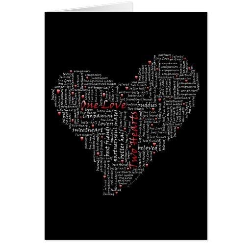 Dos corazones, un amor Card#2 Tarjetas
