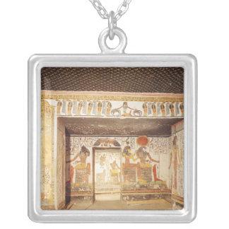Dos cuartos de la tumba de Nefertari Colgante Personalizado