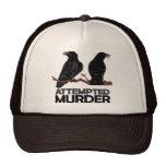 Dos cuervos = intentos de asesinato gorra