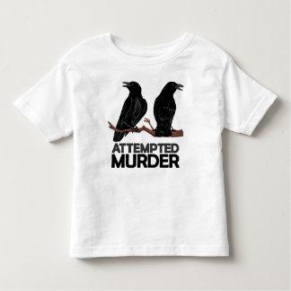 Dos cuervos = intentos de asesinato playera de bebé