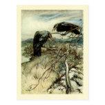 Dos cuervos postales