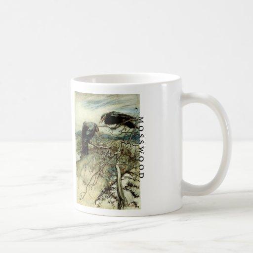Dos cuervos taza de café
