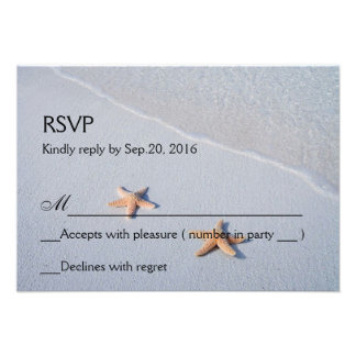 Dos de nosotros tarjeta de RSVP de la respuesta de Comunicados Personalizados