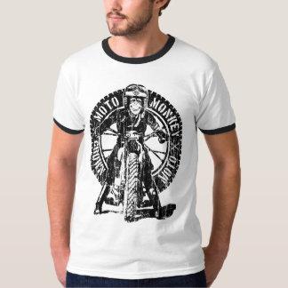 DOS del mono de Moto (vintage) Camisas