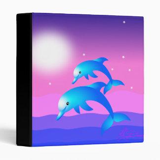 Dos delfínes del salto