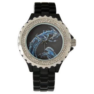 Dos delfínes relojes de pulsera