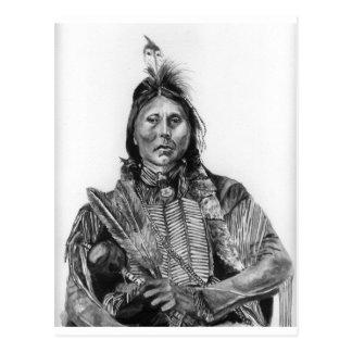 Dos destral Kiowa Tarjetas Postales