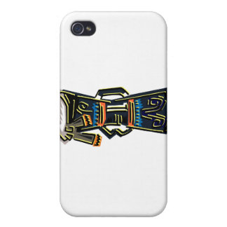 Dos dirigieron el gráfico tribal de la versión del iPhone 4 protector