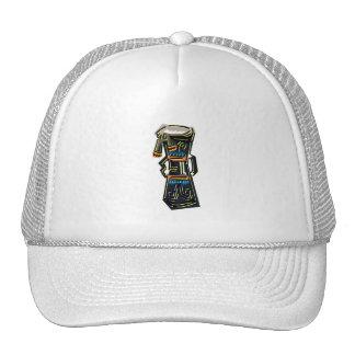 Dos dirigieron el gráfico tribal de la versión del gorras de camionero