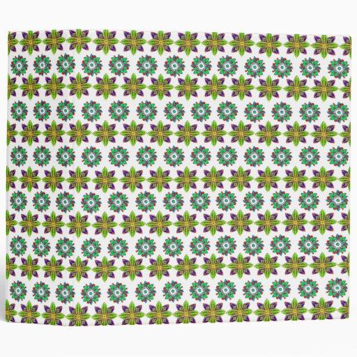 """Dos diseños floridos carpeta 2"""""""
