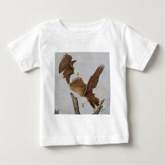 Dos Eagles calvos en vuelo T Shirt