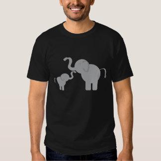 Dos elefantes camisas