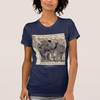 Dos elefantes de Arabischer Maler Um 1295 T-shirts
