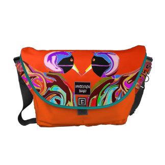 Dos en un diseño Citybag y Messengerbag Bolsas Messenger